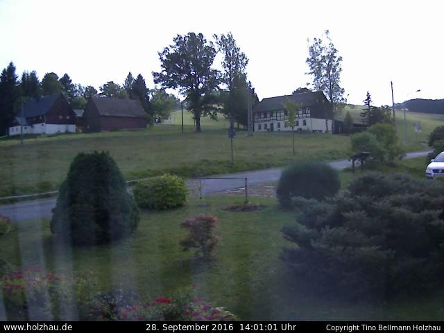Wetter am 28.09.2016 in Holzhau (Erzgebirge)