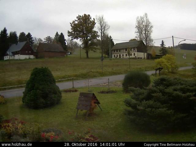 Wetter am 28.10.2016 in Holzhau (Erzgebirge)