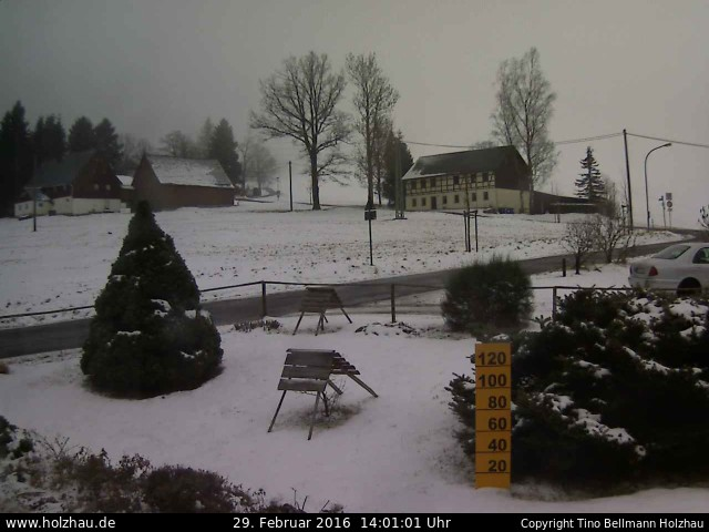 Wetter am 29.02.2016 in Holzhau (Erzgebirge)