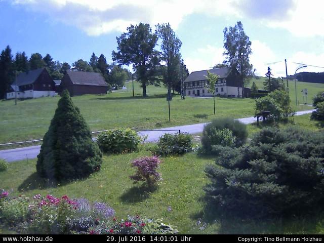 Wetter am 29.07.2016 in Holzhau (Erzgebirge)
