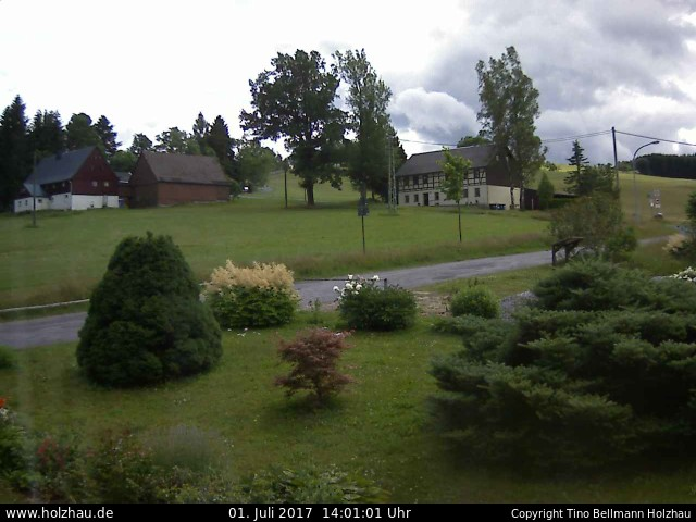 Wetter am 01.07.2017 in Holzhau (Erzgebirge)