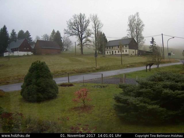 Wetter am 01.11.2017 in Holzhau (Erzgebirge)