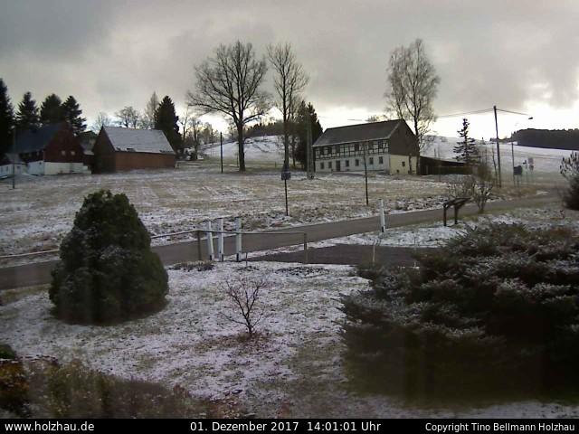 Wetter am 01.12.2017 in Holzhau (Erzgebirge)