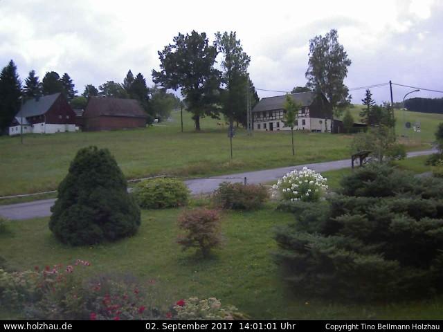 Wetter am 02.09.2017 in Holzhau (Erzgebirge)