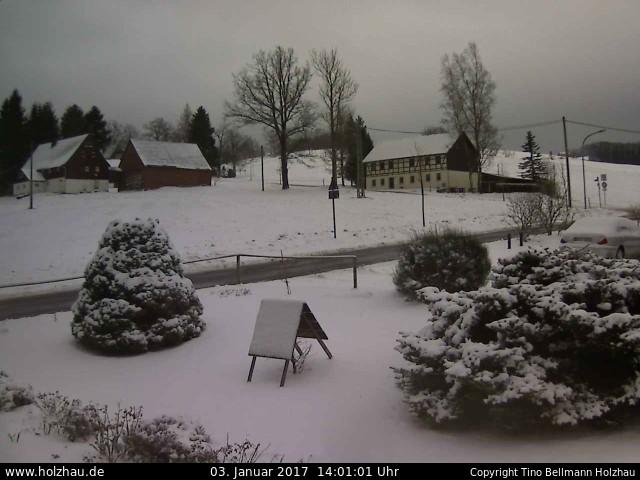 Wetter am 03.01.2017 in Holzhau (Erzgebirge)