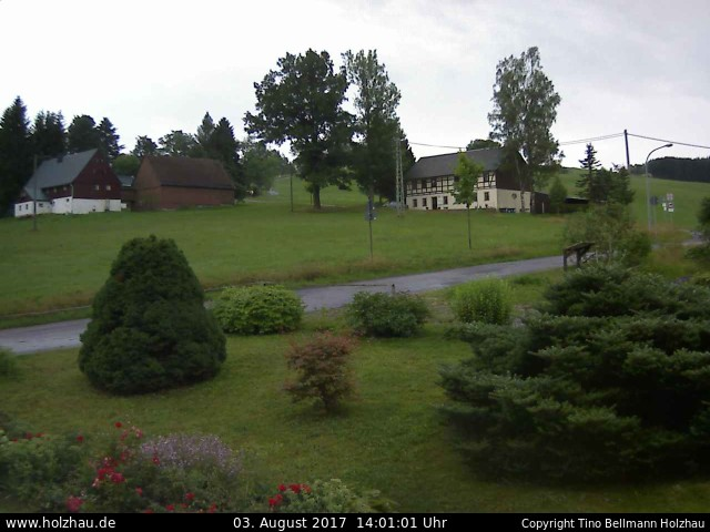 Wetter am 03.08.2017 in Holzhau (Erzgebirge)