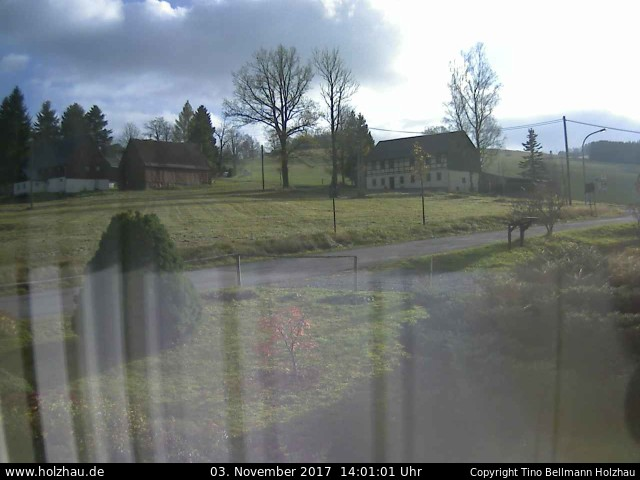 Wetter am 03.11.2017 in Holzhau (Erzgebirge)