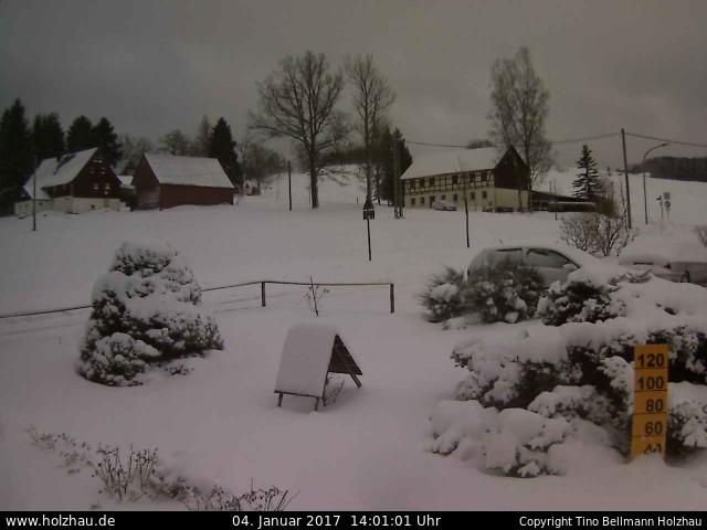 Wetter am 04.01.2017 in Holzhau (Erzgebirge)