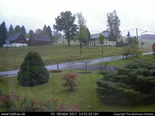 Wetter am 05.10.2017 in Holzhau (Erzgebirge)
