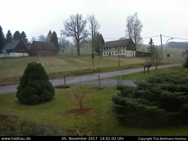 Wetter am 05.11.2017 in Holzhau (Erzgebirge)
