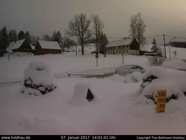 Wetter am 07.01.2017 in Holzhau (Erzgebirge)
