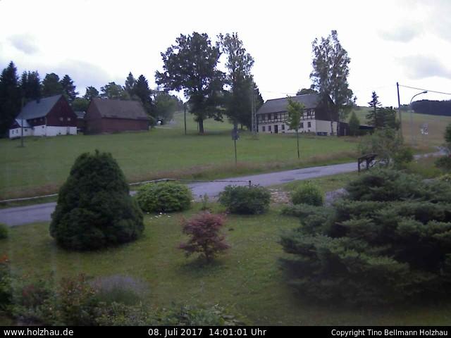 Wetter am 08.07.2017 in Holzhau (Erzgebirge)