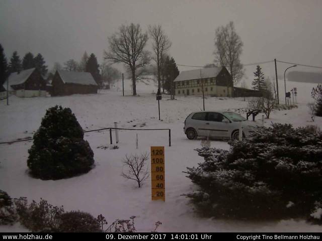 Wetter am 09.12.2017 in Holzhau (Erzgebirge)