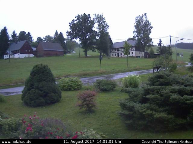Wetter am 11.08.2017 in Holzhau (Erzgebirge)