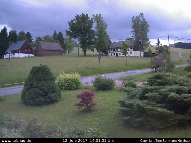 Wetter am 12.06.2017 in Holzhau (Erzgebirge)
