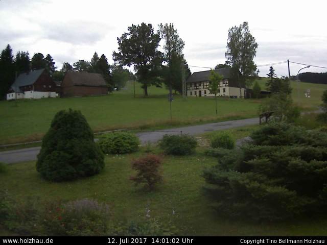 Wetter am 12.07.2017 in Holzhau (Erzgebirge)