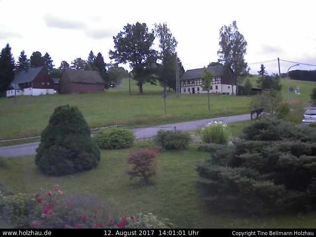 Wetter am 12.08.2017 in Holzhau (Erzgebirge)