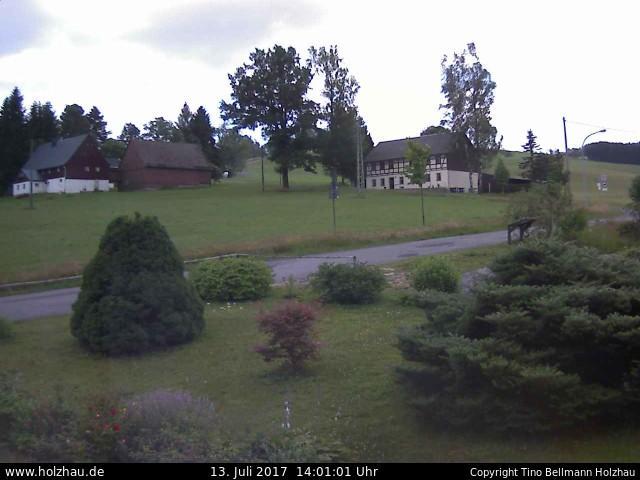 Wetter am 13.07.2017 in Holzhau (Erzgebirge)