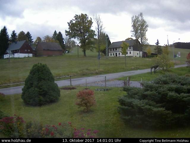 Wetter am 13.10.2017 in Holzhau (Erzgebirge)