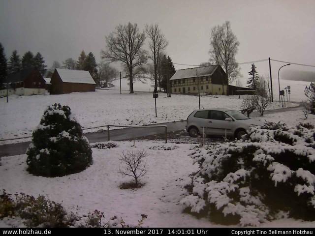 Wetter am 13.11.2017 in Holzhau (Erzgebirge)