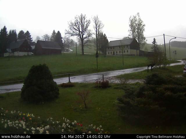 Wetter am 14.05.2017 in Holzhau (Erzgebirge)