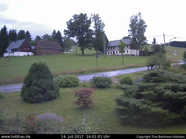 Wetter am 14.07.2017 in Holzhau (Erzgebirge)