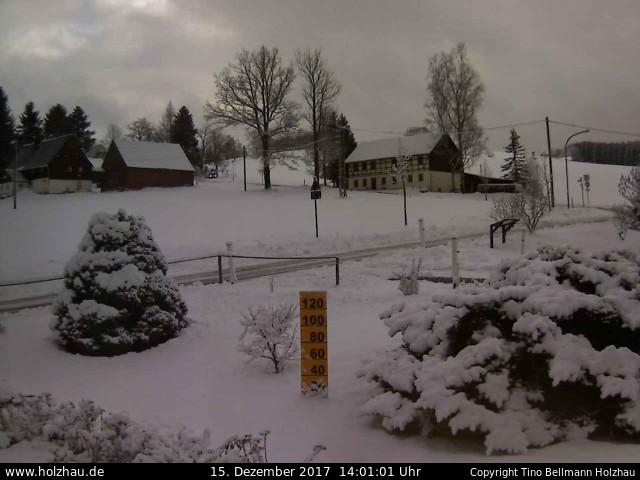 Wetter am 15.12.2017 in Holzhau (Erzgebirge)