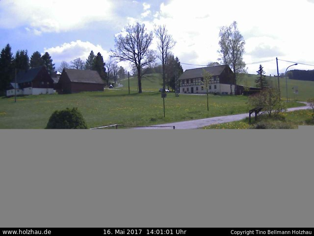 Wetter am 16.05.2017 in Holzhau (Erzgebirge)