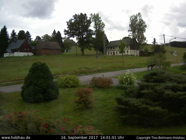 Wetter am 16.09.2017 in Holzhau (Erzgebirge)