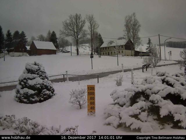 Wetter am 16.12.2017 in Holzhau (Erzgebirge)