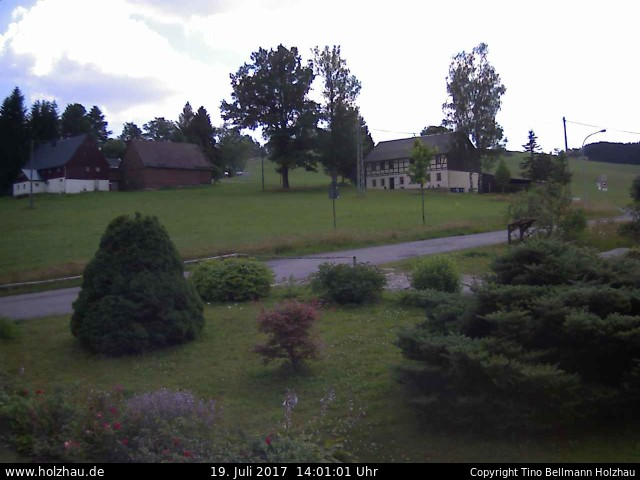 Wetter am 19.07.2017 in Holzhau (Erzgebirge)