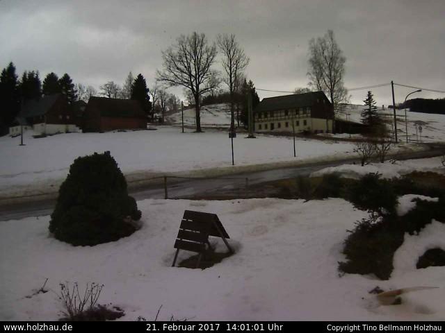 Wetter am 21.02.2017 in Holzhau (Erzgebirge)