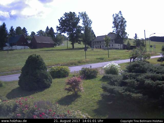 Wetter am 21.08.2017 in Holzhau (Erzgebirge)