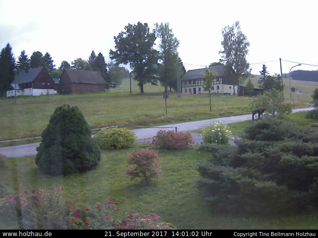 Wetter am 21.09.2017 in Holzhau (Erzgebirge)
