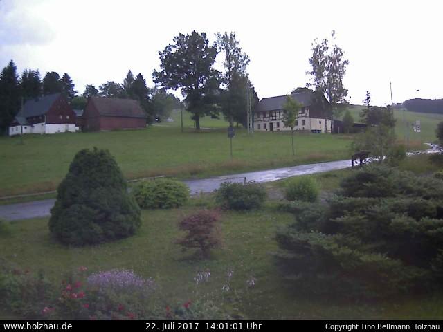 Wetter am 22.07.2017 in Holzhau (Erzgebirge)