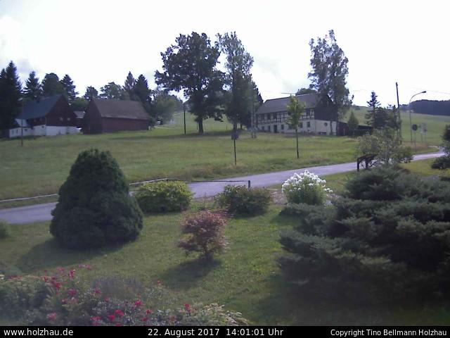 Wetter am 22.08.2017 in Holzhau (Erzgebirge)