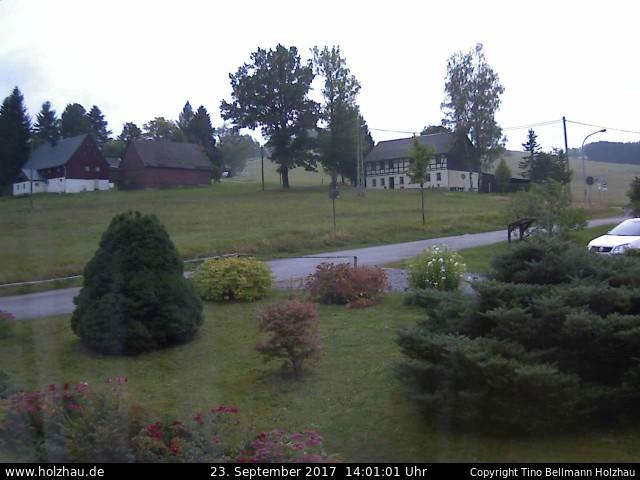Wetter am 23.09.2017 in Holzhau (Erzgebirge)