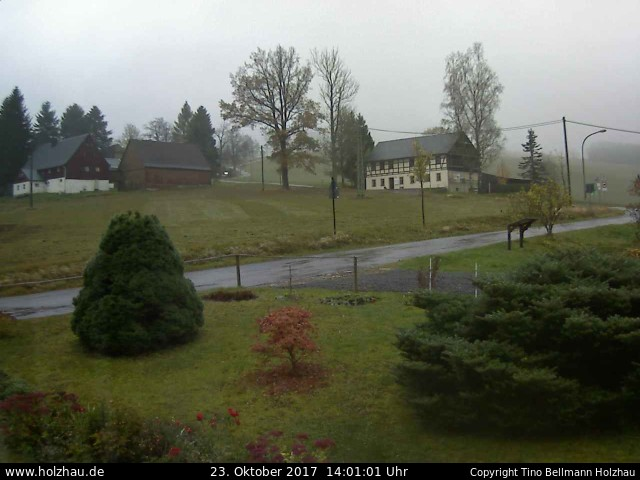 Wetter am 23.10.2017 in Holzhau (Erzgebirge)