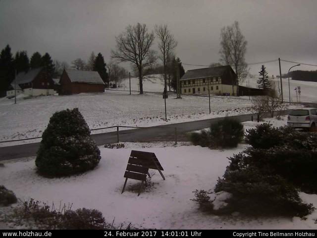 Wetter am 24.02.2017 in Holzhau (Erzgebirge)