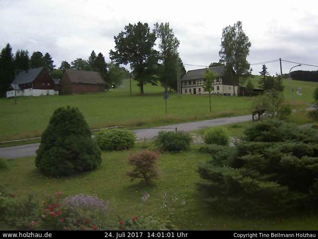 Wetter am 24.07.2017 in Holzhau (Erzgebirge)