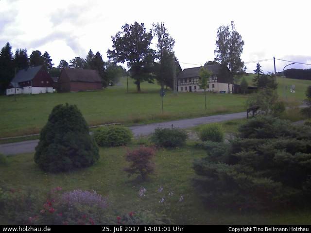 Wetter am 25.07.2017 in Holzhau (Erzgebirge)