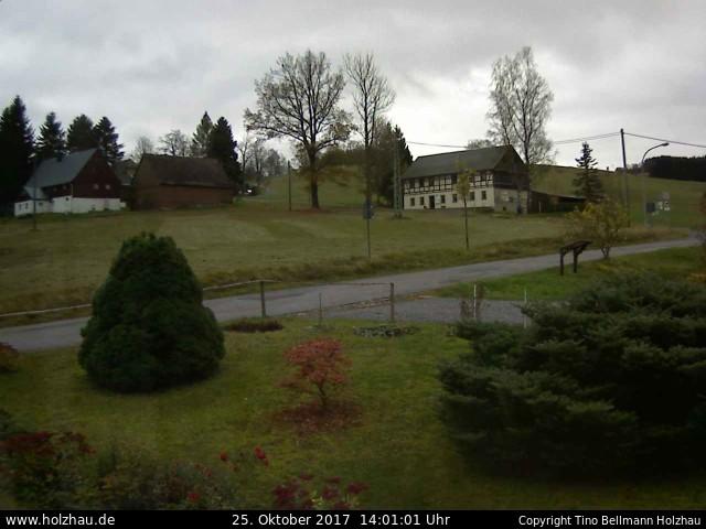 Wetter am 25.10.2017 in Holzhau (Erzgebirge)