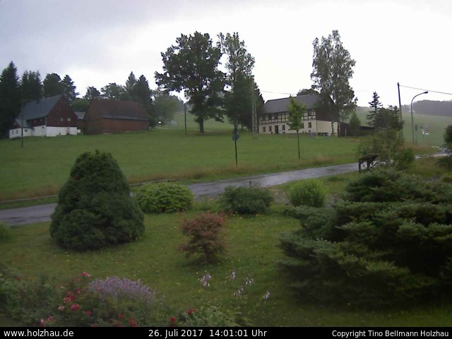 Wetter am 26.07.2017 in Holzhau (Erzgebirge)