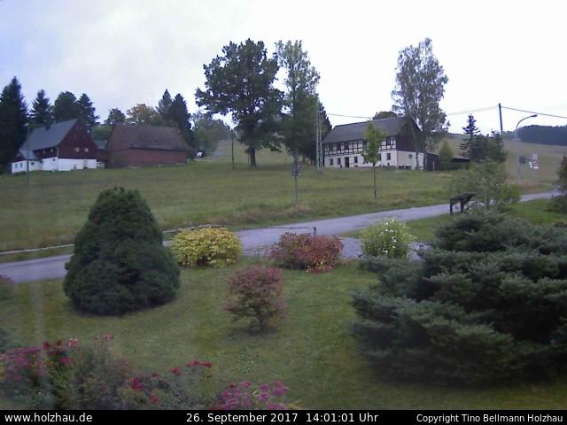 Wetter am 26.09.2017 in Holzhau (Erzgebirge)