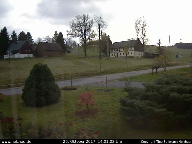 Wetter am 26.10.2017 in Holzhau (Erzgebirge)