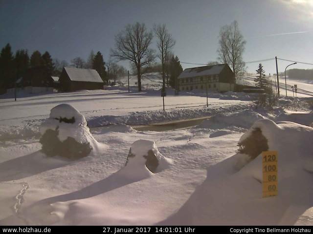Wetter am 27.01.2017 in Holzhau (Erzgebirge)
