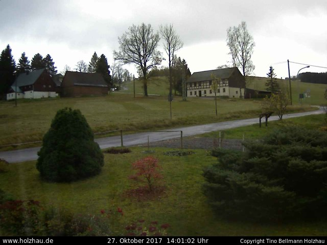 Wetter am 27.10.2017 in Holzhau (Erzgebirge)
