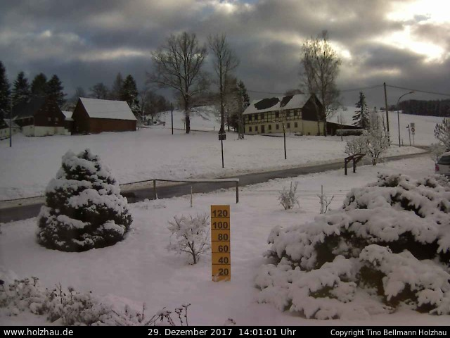 Wetter am 29.12.2017 in Holzhau (Erzgebirge)