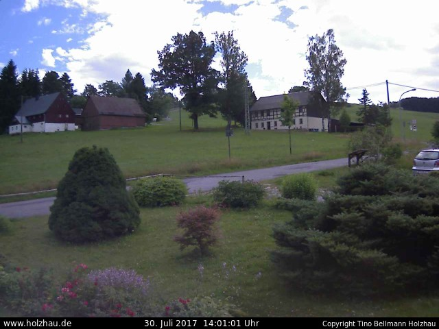 Wetter am 30.07.2017 in Holzhau (Erzgebirge)