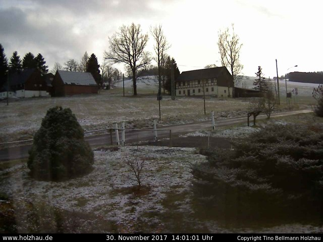 Wetter am 30.11.2017 in Holzhau (Erzgebirge)